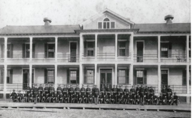 Barracks 1908