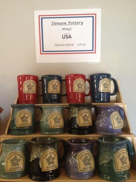 Deneen Pottery Mugs             Hand made in the USA